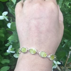 Connemara Oval Bracelet on LJ