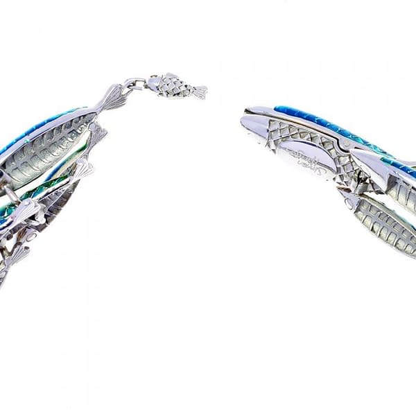 electra fish necklace clasp
